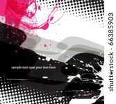 abstract background design | Shutterstock .eps vector #66385903