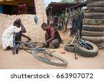 lilongwe  malawi   september 05 ... | Shutterstock . vector #663907072