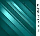 green turquoise vector... | Shutterstock .eps vector #663909172