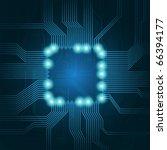 technology theme vector...   Shutterstock .eps vector #66394177