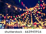abstract blur image of night... | Shutterstock . vector #663945916