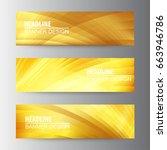 abstract golden vector web...   Shutterstock .eps vector #663946786