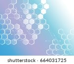 abstract background of the... | Shutterstock .eps vector #664031725