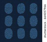 ultra thin vector fingerprint...