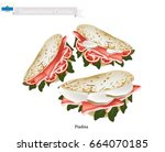 sammarinese cuisine ...   Shutterstock .eps vector #664070185