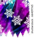 christmas background | Shutterstock .eps vector #66409765