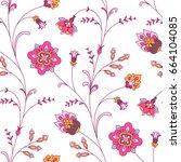 light seamless pattern for your ... | Shutterstock .eps vector #664104085