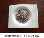 Small photo of Organic healthy red Bario wild rice from Bario Highlands in Sarawak, Malaysia