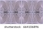 abstract raster background in... | Shutterstock . vector #664106896