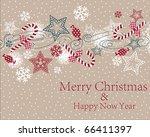 christmas backgrounds | Shutterstock .eps vector #66411397