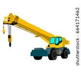 crane vector illustration | Shutterstock .eps vector #664171462