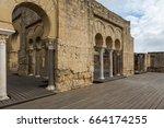 medina azahara. important... | Shutterstock . vector #664174255