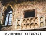 Balcony On The Facade Of The...