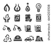bio fuel icon | Shutterstock .eps vector #664203508