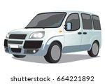 car vector illustration | Shutterstock .eps vector #664221892