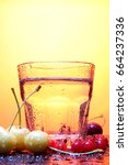 paradise cherry   Shutterstock . vector #664237336