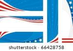 Usa Banners Set