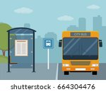 Picture Of Bus On The Bus Stop...