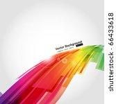 abstract background vector | Shutterstock .eps vector #66433618