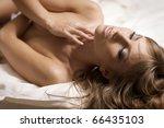 beautiful blonde woman | Shutterstock . vector #66435103