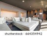 modern luxury hotel lounge | Shutterstock . vector #664354942