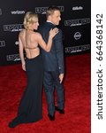 """Small photo of LOS ANGELES, CA - DECEMBER 10, 2016: Actor Alan Tudyk & wife Charissa Barton at the world premiere of """"Rogue One: A Star Wars Story"""" at The Pantages Theatre, Hollywood."""