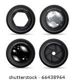 vector illustration of camera... | Shutterstock .eps vector #66438964