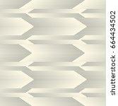 abstract arrow texture.... | Shutterstock .eps vector #664434502