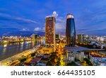 da nang city  vietnam   11 june ... | Shutterstock . vector #664435105