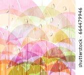 Monsoon Season Background With...