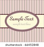 template frame design for... | Shutterstock .eps vector #66452848