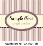 template frame design for...   Shutterstock .eps vector #66452848