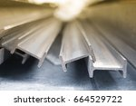 Steel I Beam  Selective Focus ...