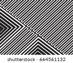 abstract geometric pattern with ... | Shutterstock .eps vector #664561132
