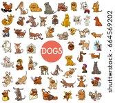 cartoon vector illustration of... | Shutterstock .eps vector #664569202