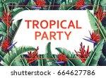 summer party beach poster....   Shutterstock .eps vector #664627786
