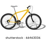 mountain bicycle | Shutterstock .eps vector #66463036