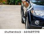 shiny car color | Shutterstock . vector #664689598