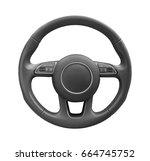 steering wheel driver of...   Shutterstock . vector #664745752
