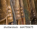 traditional austrian and... | Shutterstock . vector #664750675