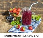 healthy eating  food  dieting...   Shutterstock . vector #664842172