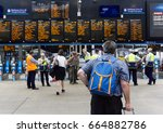 edinburgh  scotland   june 19 ... | Shutterstock . vector #664882786