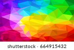 abstract colorful background 02 | Shutterstock .eps vector #664915432