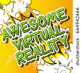 awesome virtual reality   comic ...