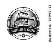 Sailing Ship Vintage...