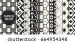 abstract concept vector... | Shutterstock .eps vector #664954348
