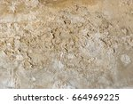 old cement wall | Shutterstock . vector #664969225