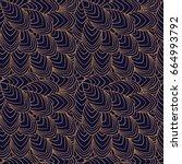 luxury background pattern... | Shutterstock .eps vector #664993792