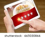 bad restaurant review.... | Shutterstock . vector #665030866