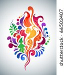 colorful abstract background   Shutterstock .eps vector #66503407